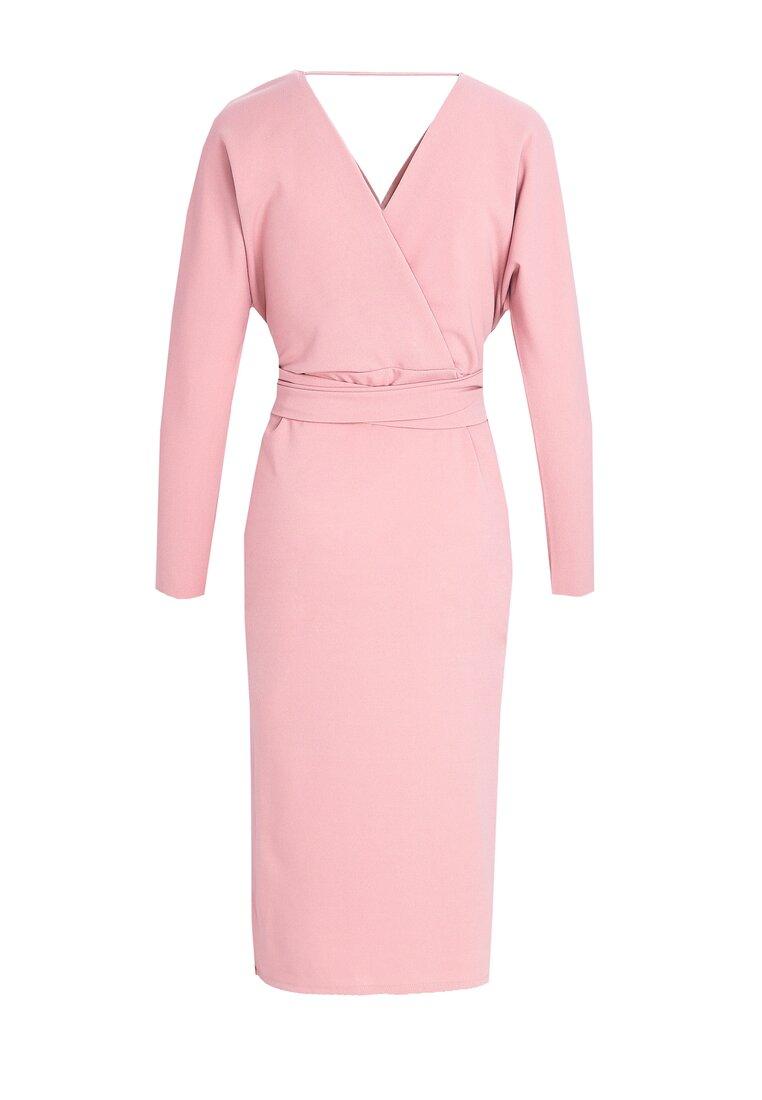 Różowa Sukienka Clement