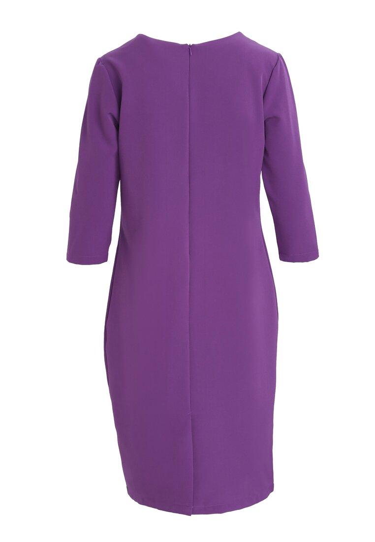Fioletowa Sukienka Percolate
