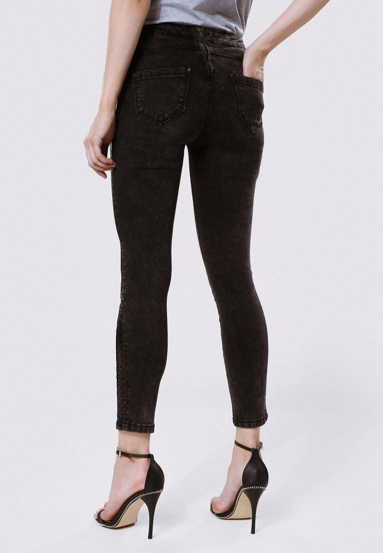 Czarne Spodnie Rear