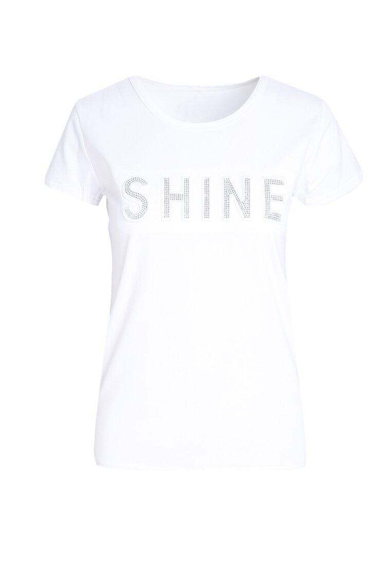 Biały T-shirt Rich