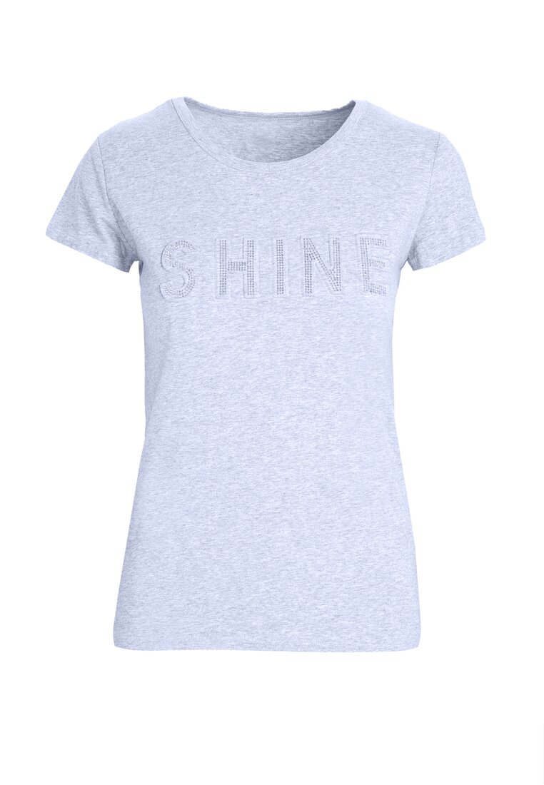 Szary T-shirt Rich