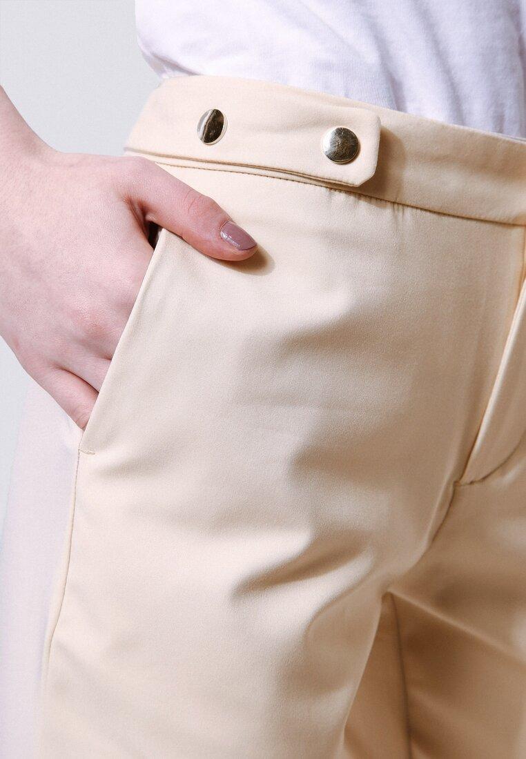 Beżowe Spodnie Assault