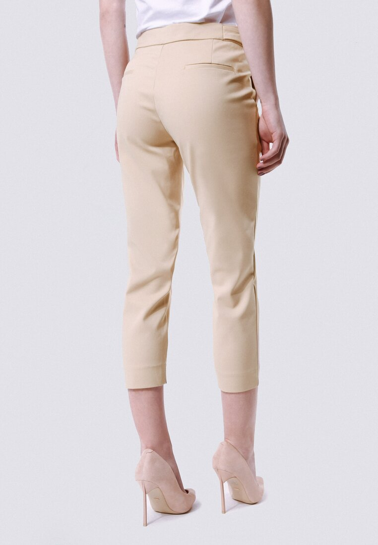 Beżowe Spodnie Again
