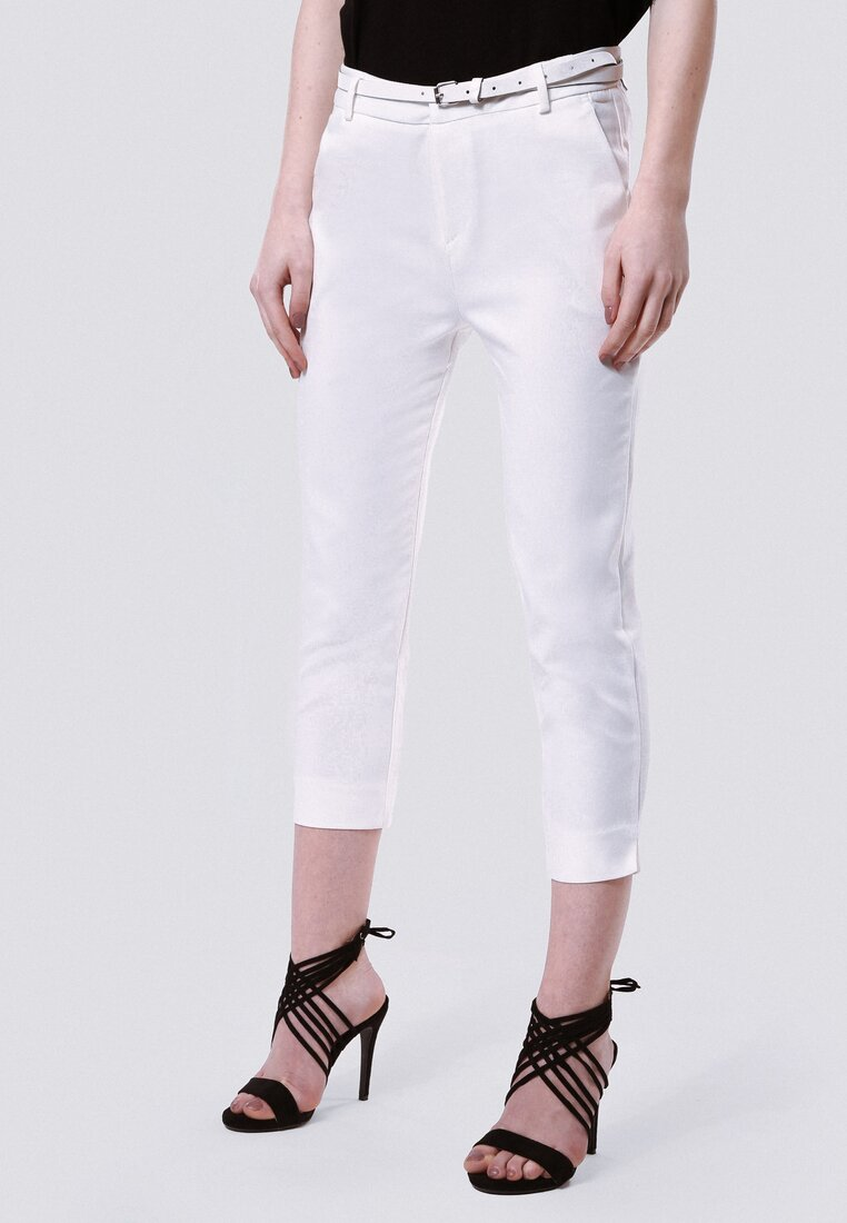 Białe Spodnie Broadway