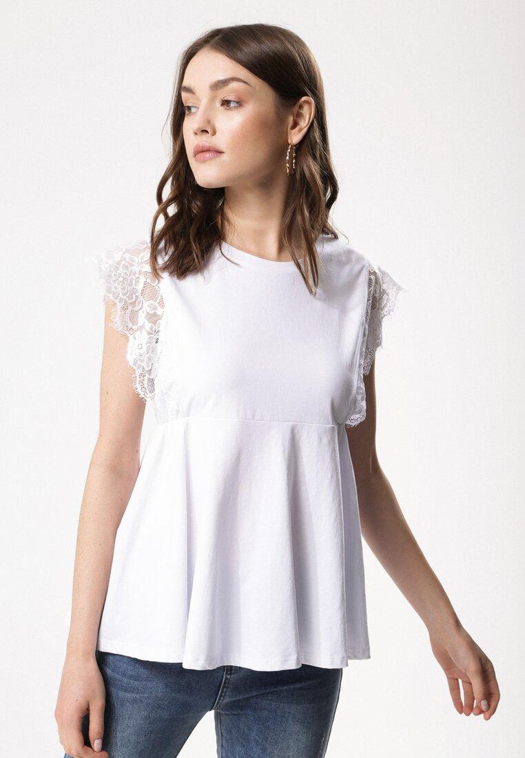 Biała Bluzka Particularity