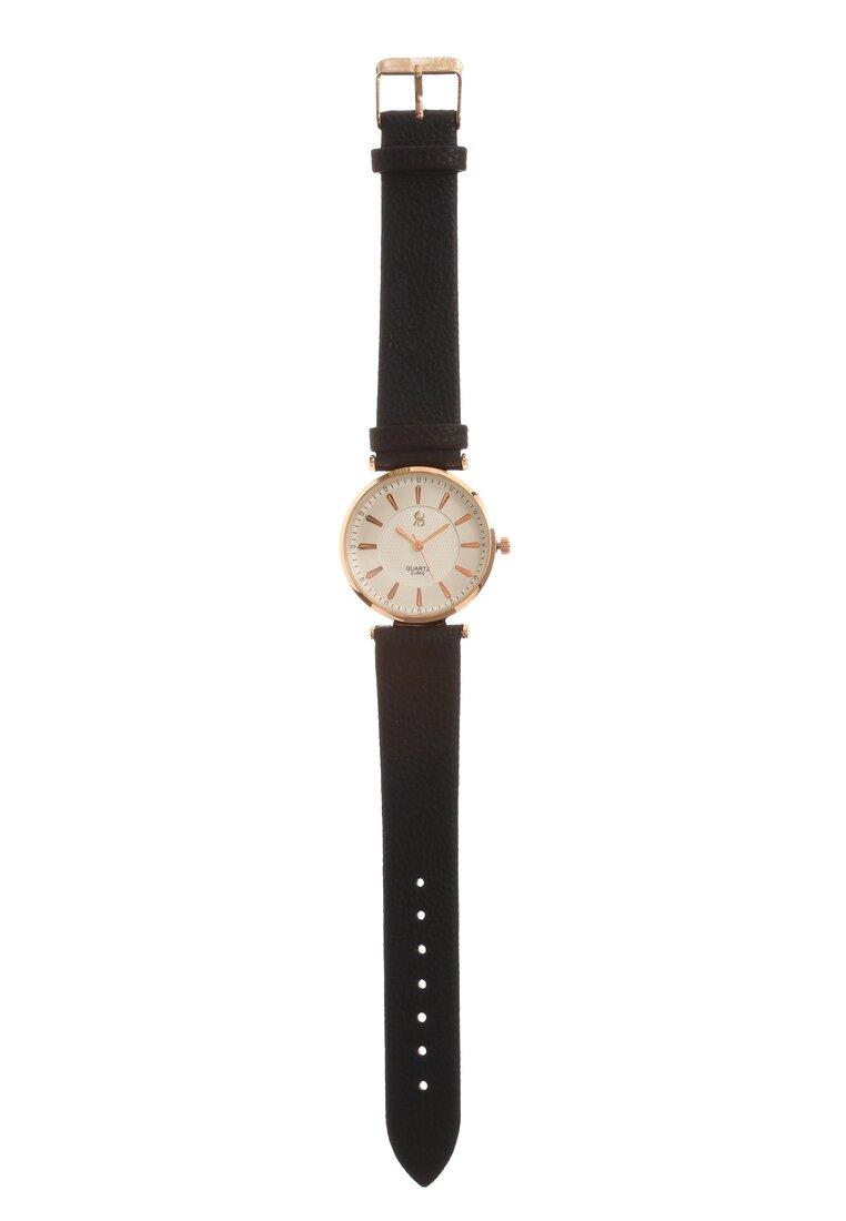 Czarno-Różowy Zegarek Missing