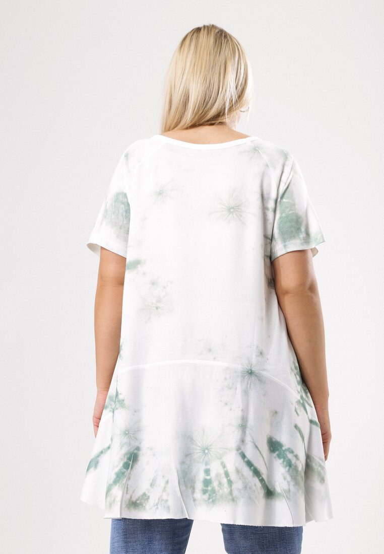 Biało-Zielona Tunika Unceasingly