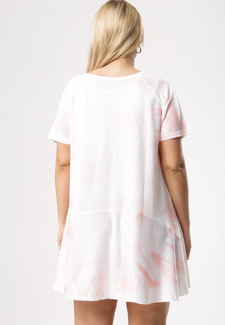 Biało-Różowa Tunika Unceasingly