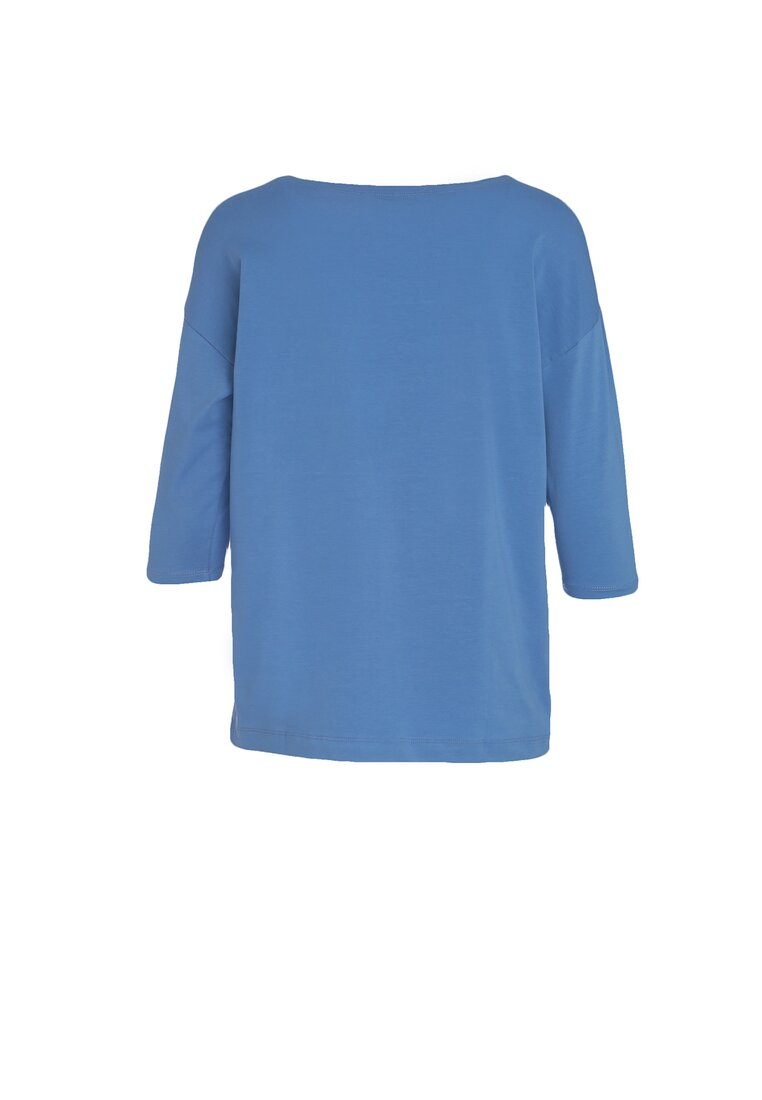 Niebieska Bluzka Bordering On