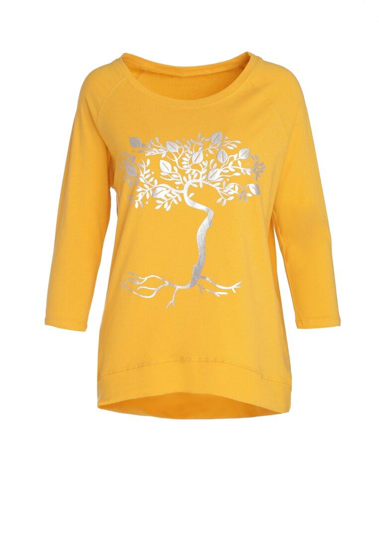 Żółta Bluzka Lemon Tree