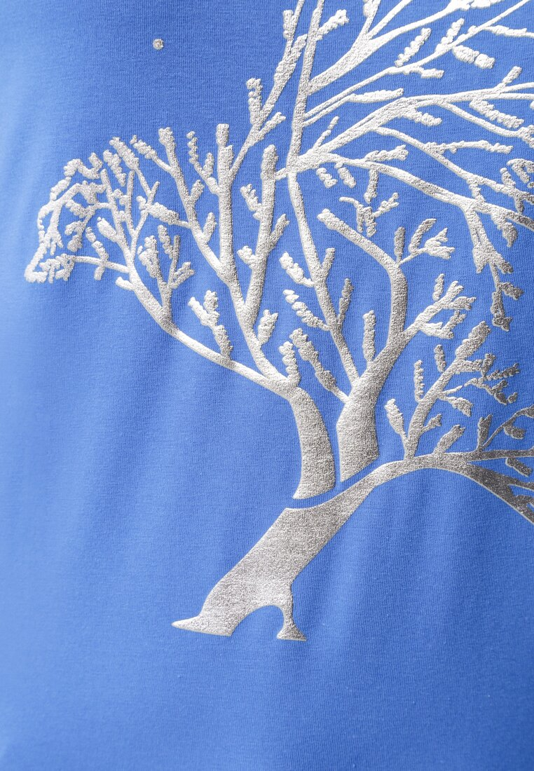 Granatowy Bluzka Illimitable