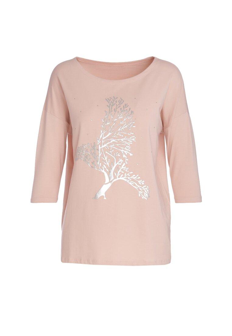Różowy Bluzka Illimitable