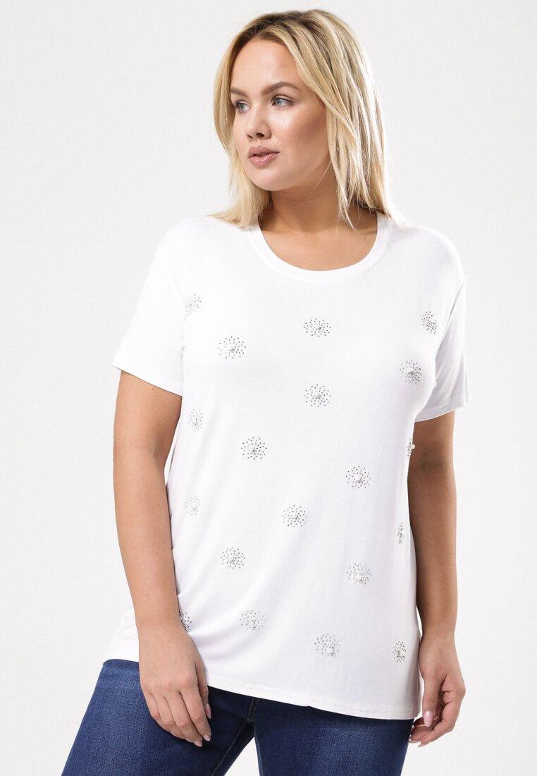 Biały T-shirt In The Ballpark