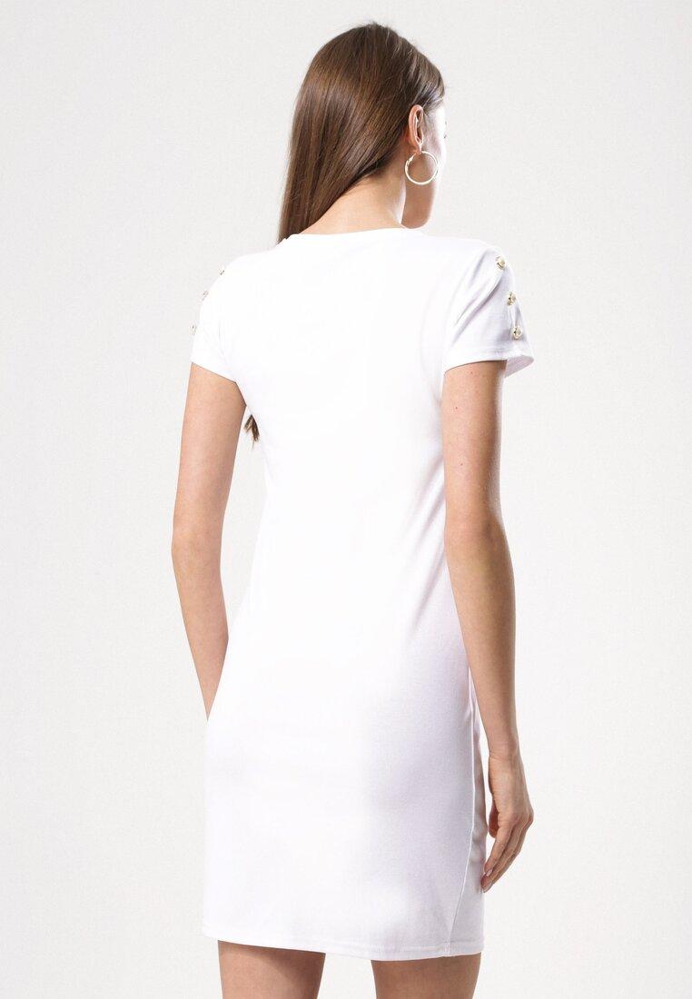 Biała Sukienka Infinitely