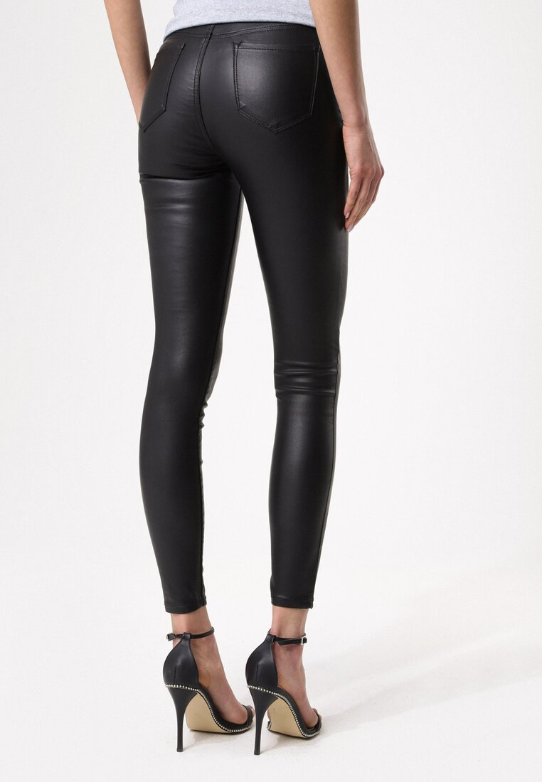 Czarne Spodnie Exact