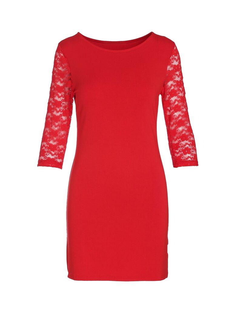 Czerwona Sukienka Be Present