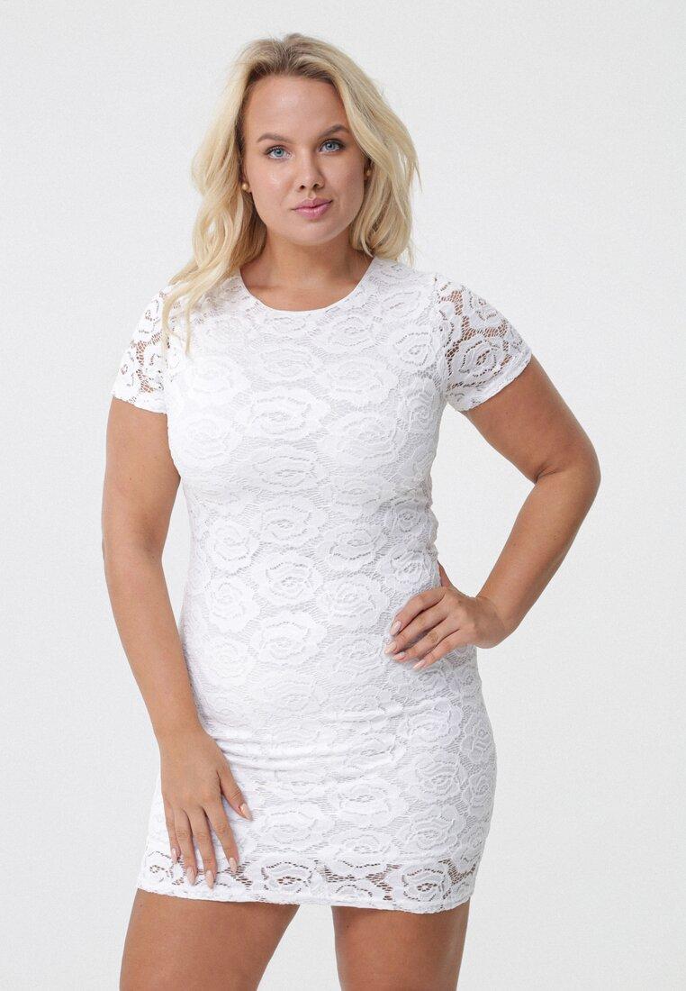 Biała Sukienka Lethargic