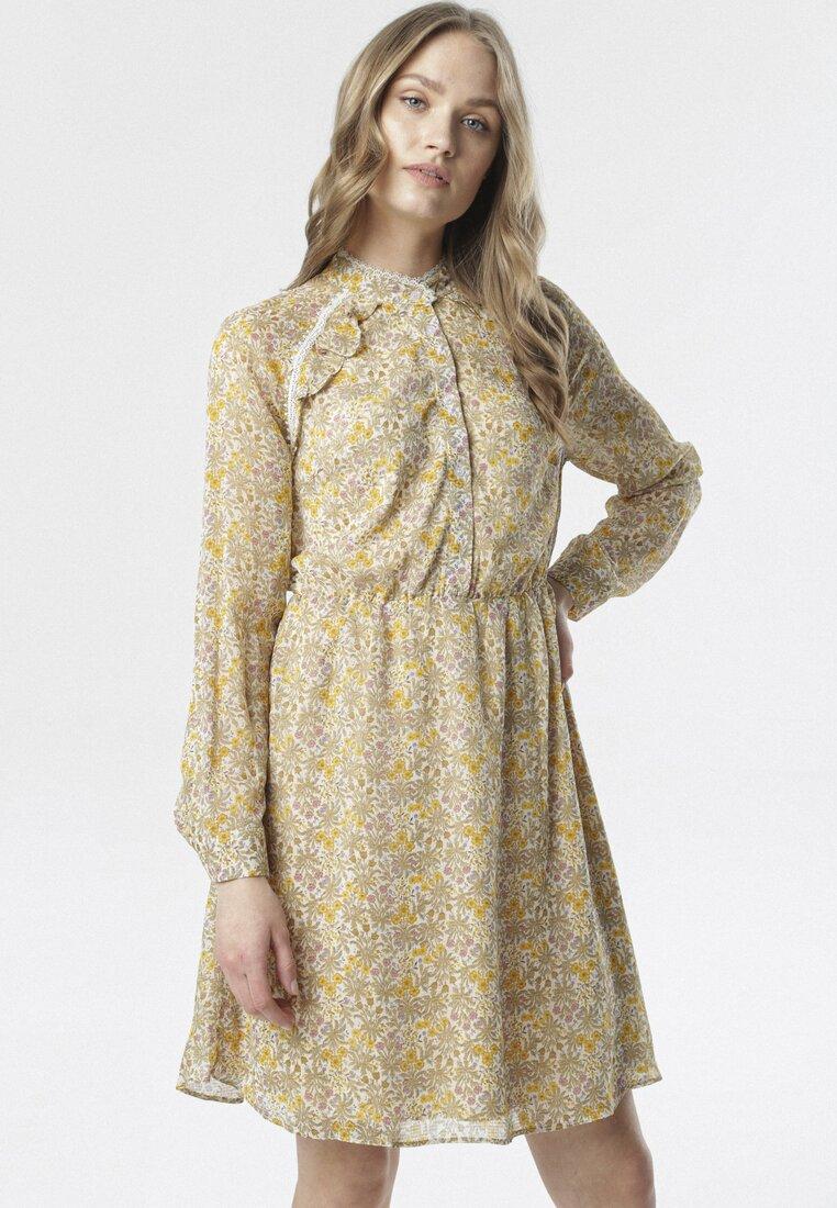 Żółta Sukienka Agnostic