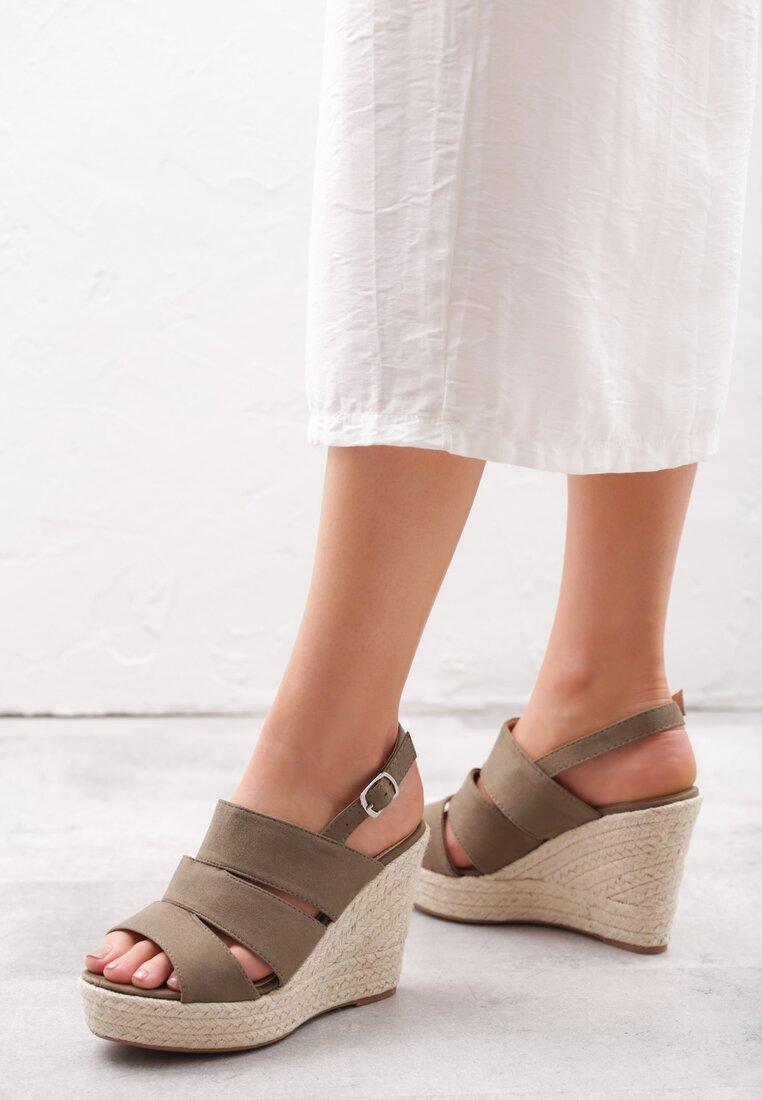Khaki Sandały Convulse inny