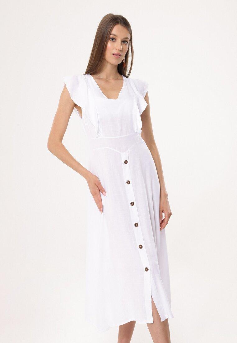 Biała Sukienka Congenital other