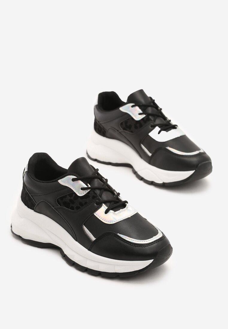 Czarne Sneakersy Dogbane inny