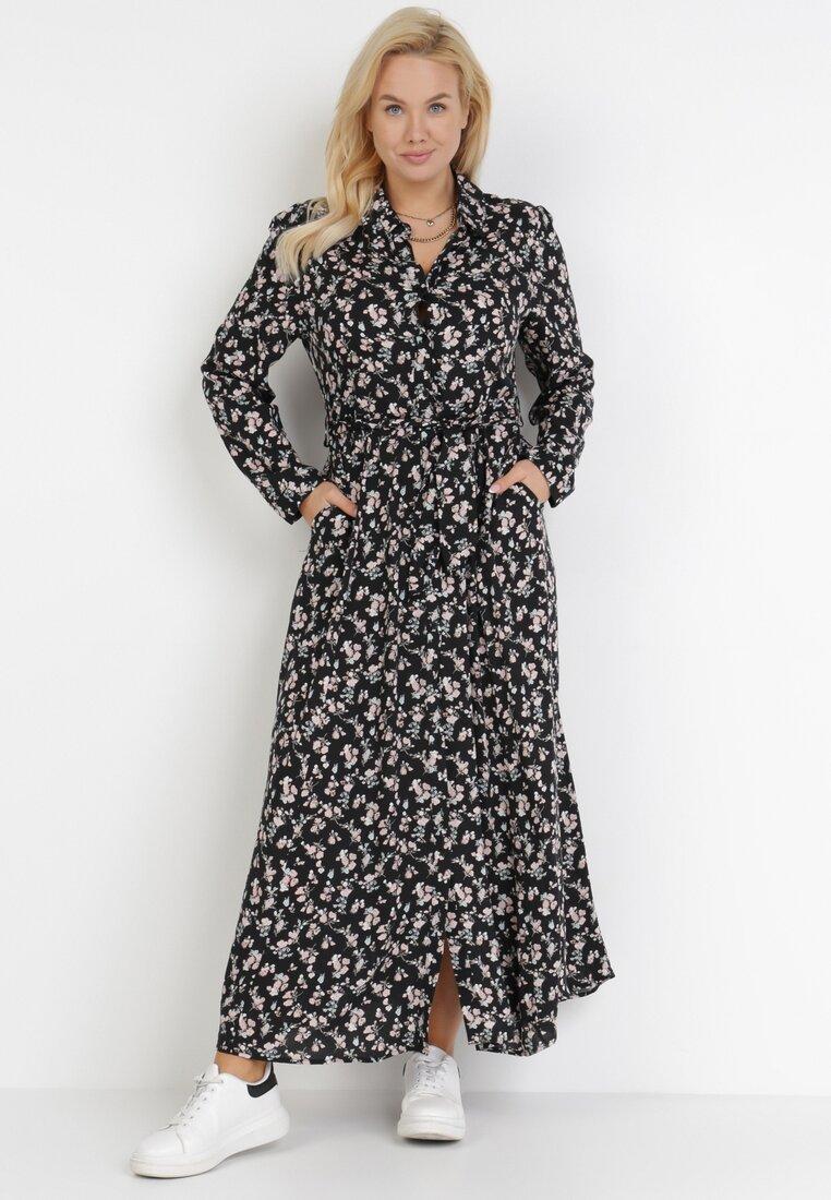 Czarna Sukienka Crestmead