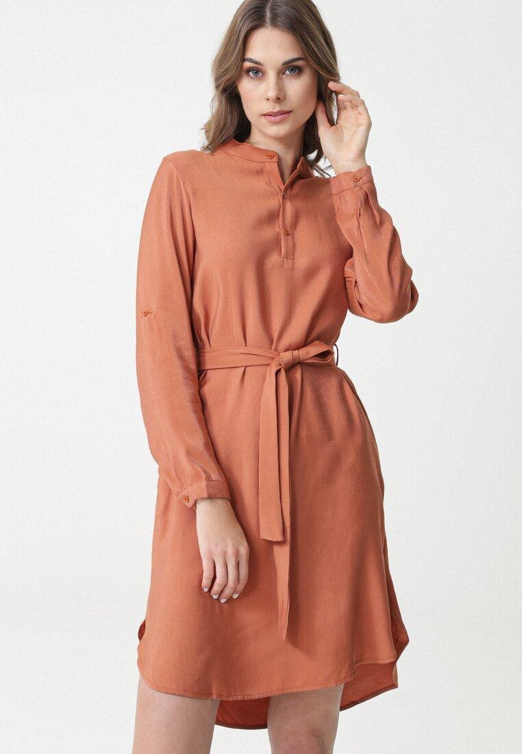 Łososiowa Sukienka Batavia