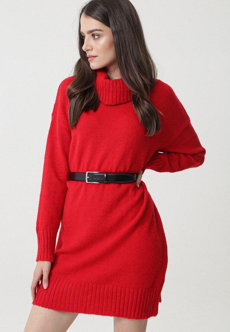 Czerwona Sukienka Devonshire