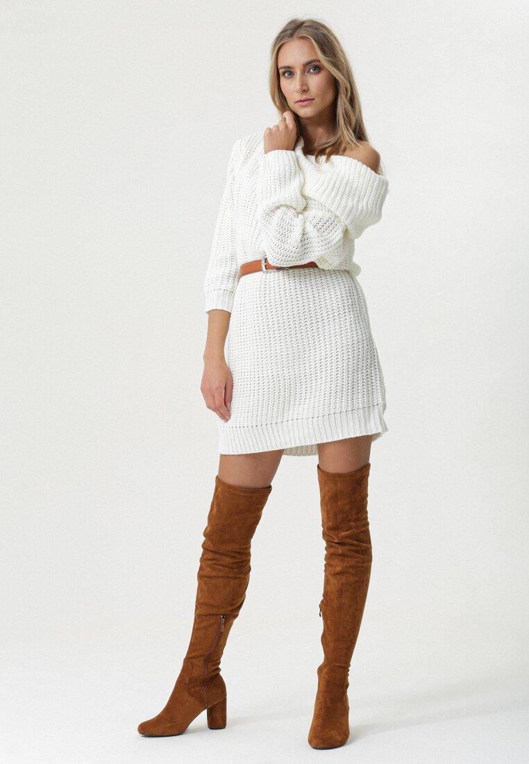 Biała Sukienka Profound