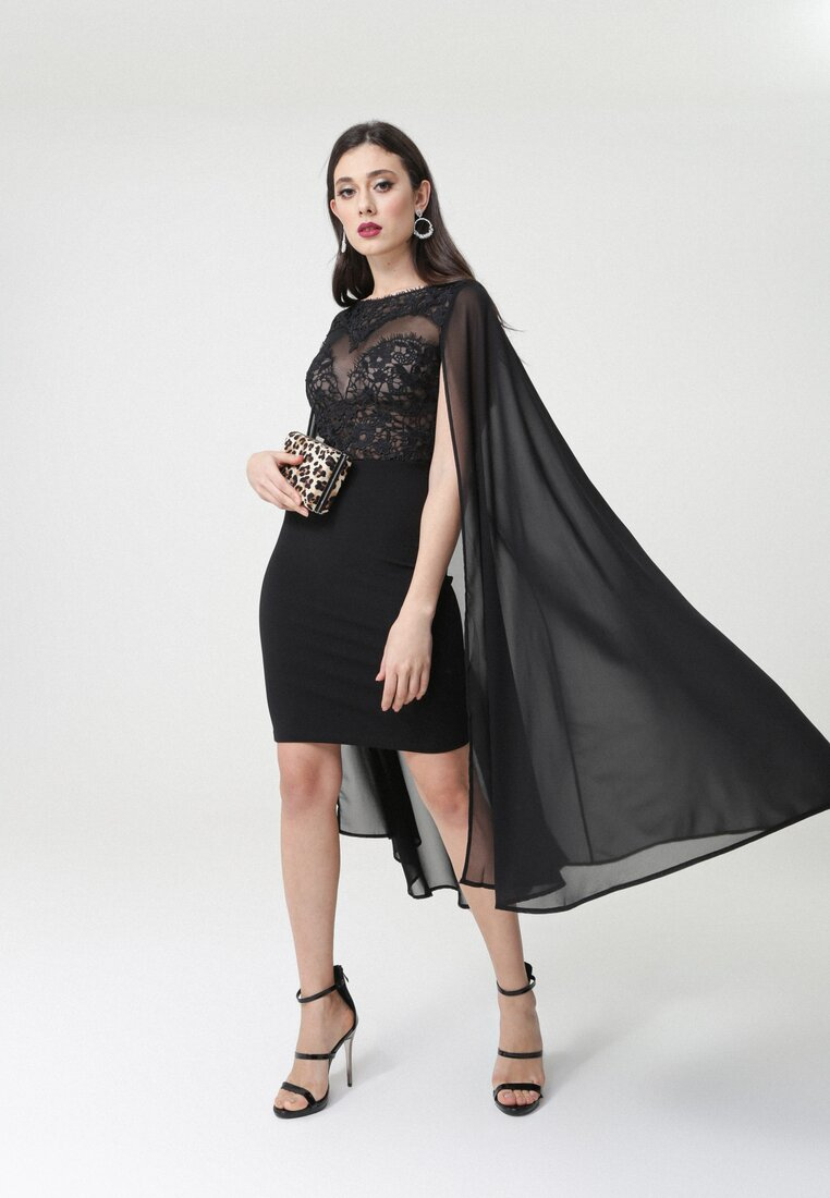 Czarna Sukienka Sumaya
