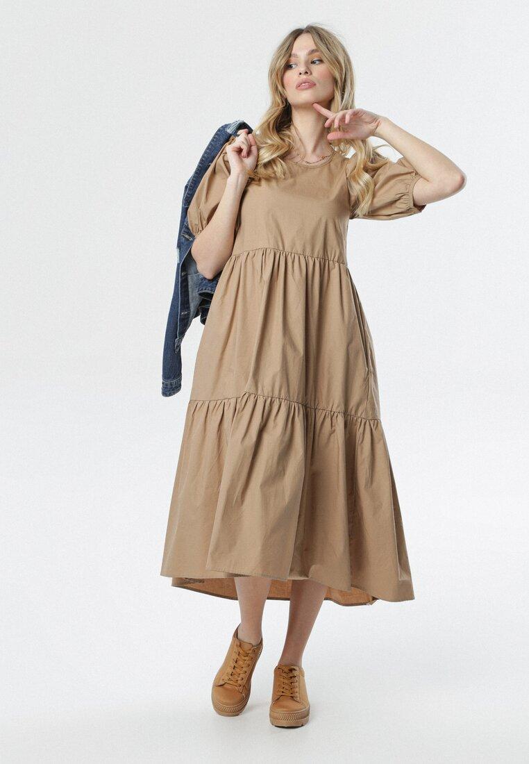 Beżowa Sukienka Sonali other