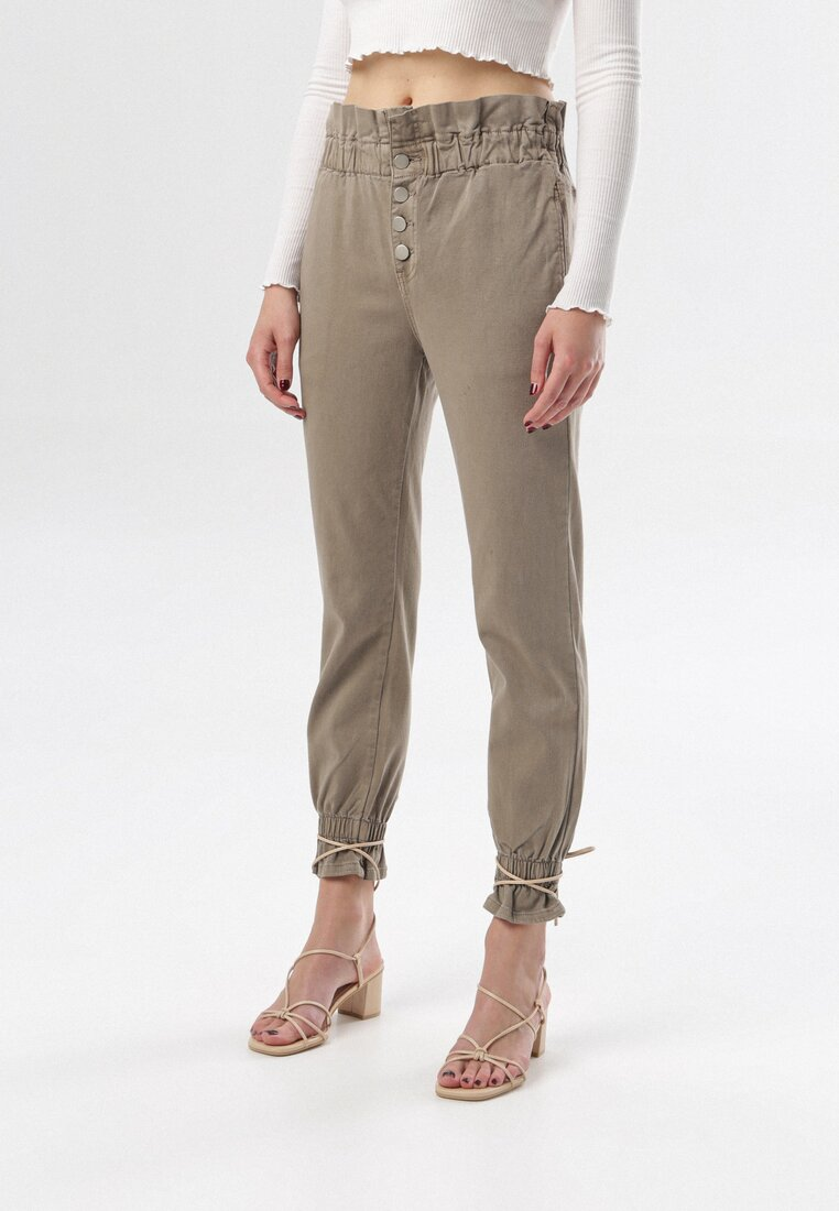 Khaki Spodnie Celestia