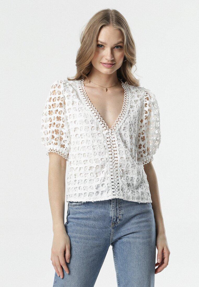 Biała Bluzka Bevan