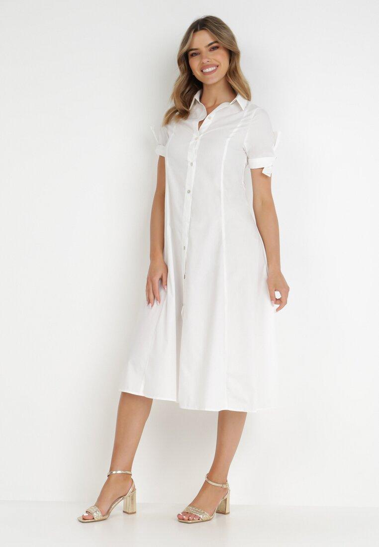 Biała Sukienka Melanippe