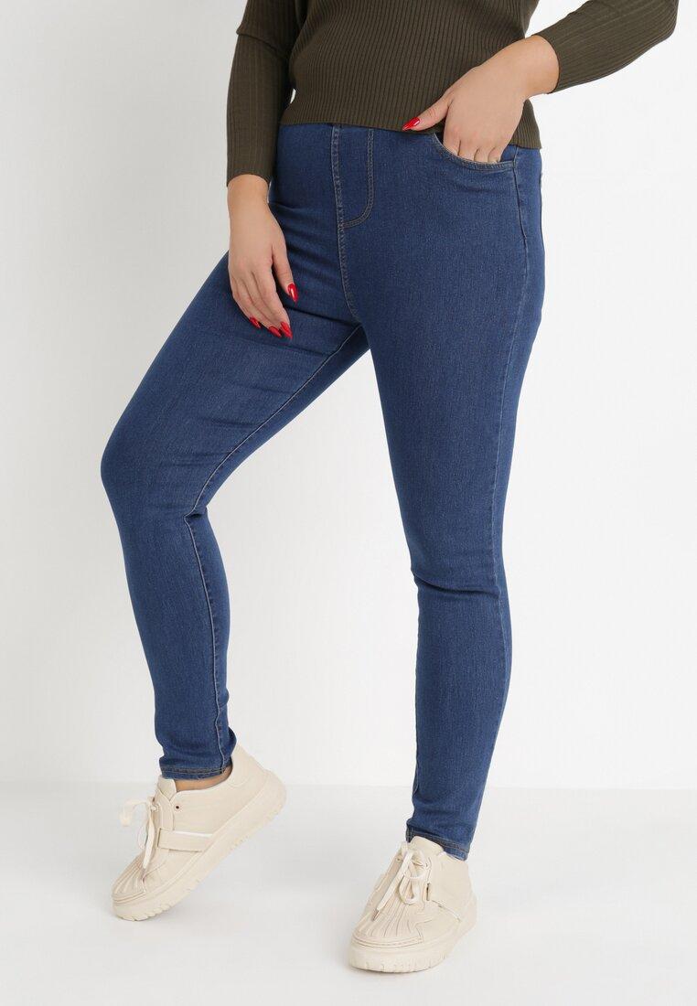Niebieskie Spodnie Jegginsy Sweet Show other