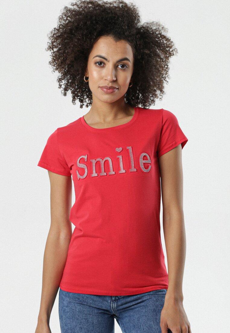 Czerwony T-shirt Fransiska other