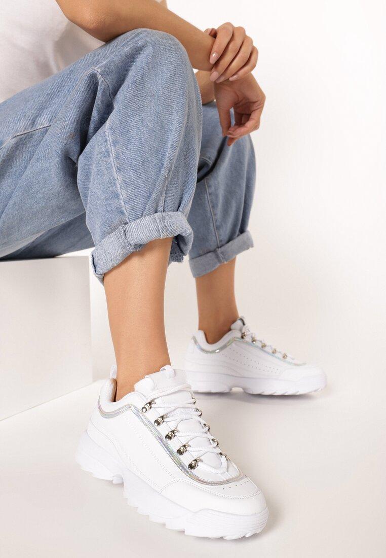 Białe Sneakersy Daphnia inny