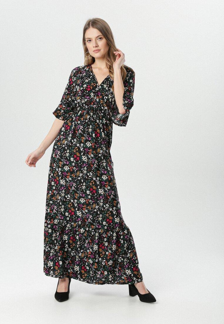 Czarna Sukienka Menidora