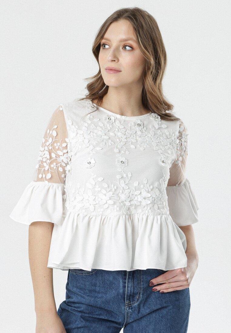 Biała Bluzka Coraedah