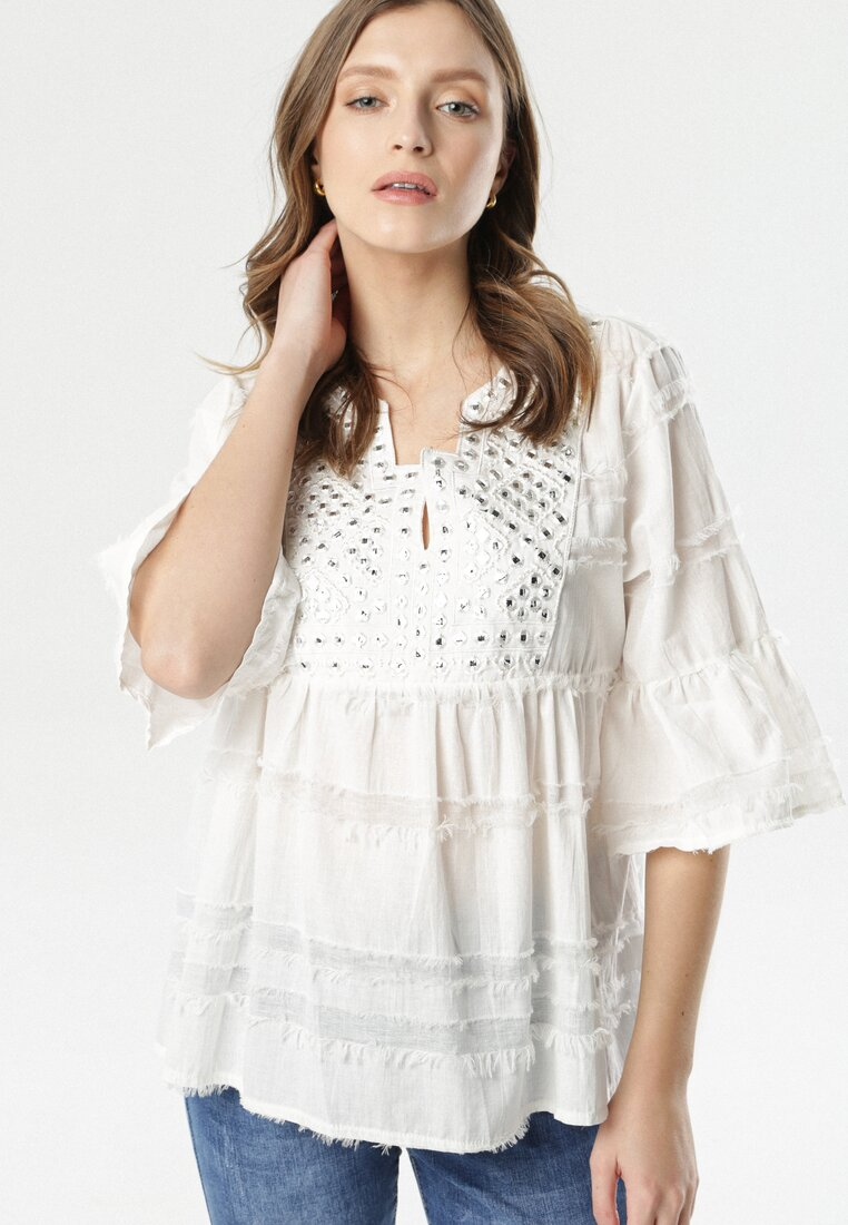 Biała Bluzka Swiftbay
