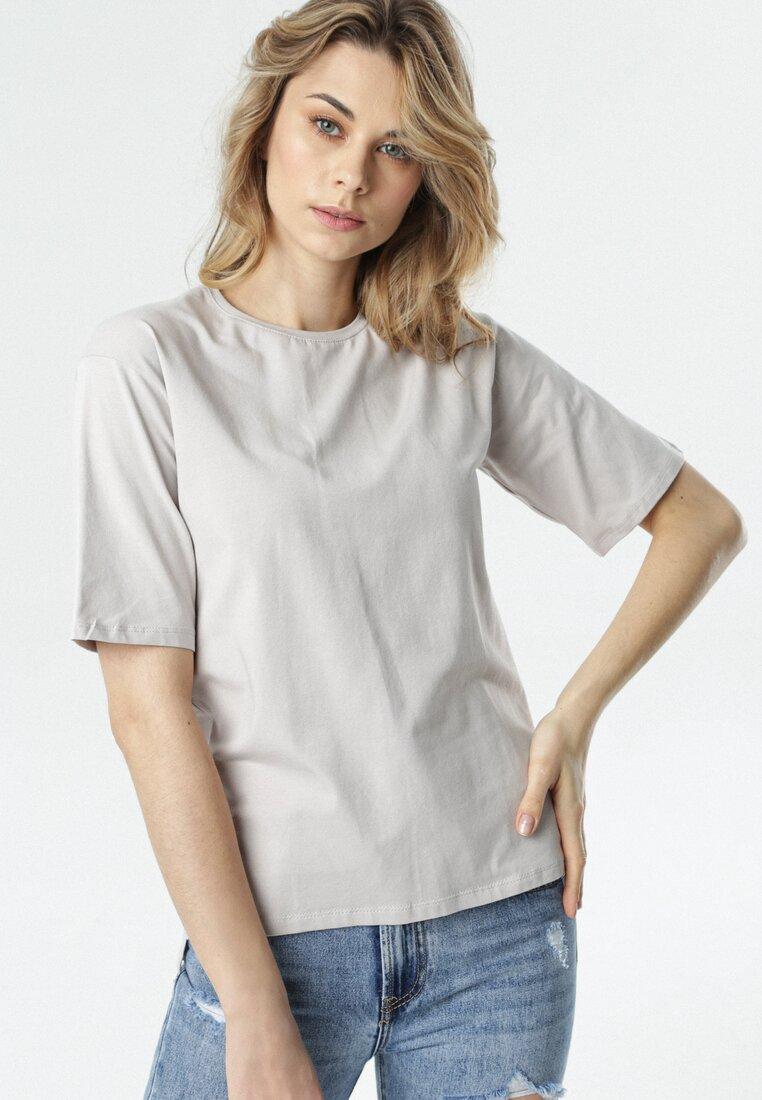 Szary T-shirt Crialacia other