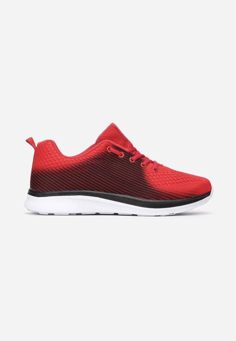 Czerwono-Czarne Buty Sportowe Cordelora inny