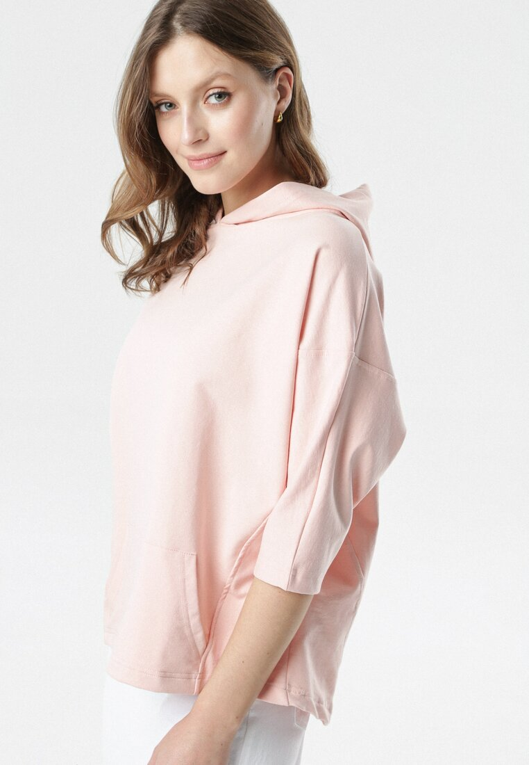 Jasnoróżowa Bluza Joann