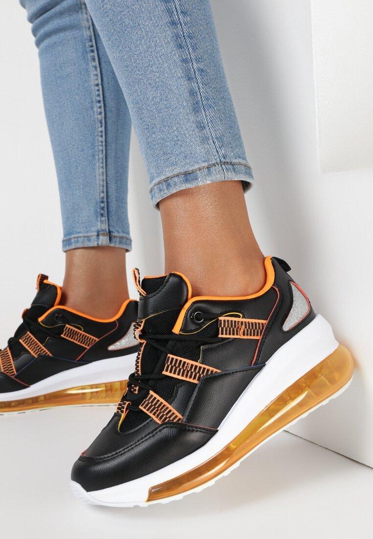 Czarne Sneakersy Alakaia