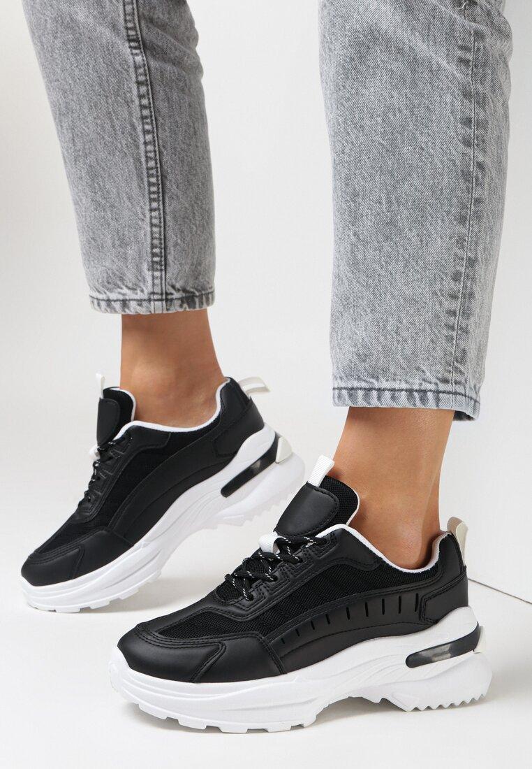 Czarne Sneakersy Castymes