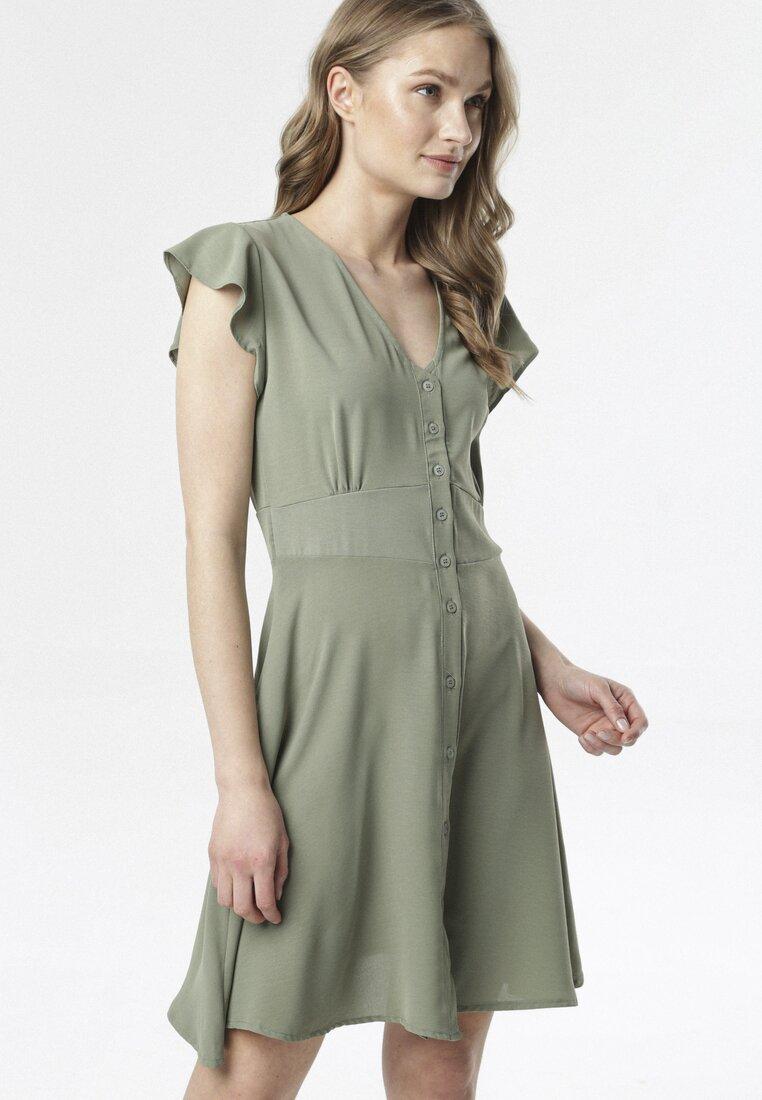 Ciemnozielona Sukienka Corearia other