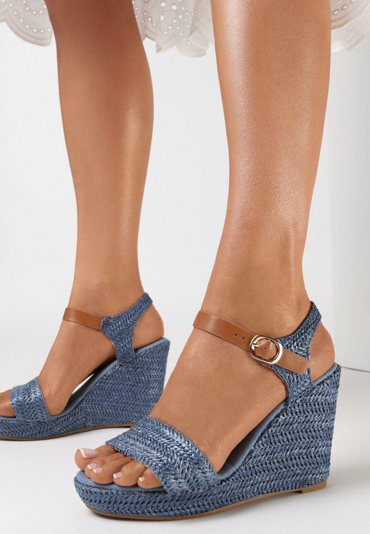 Niebieskie Sandały Kyrien