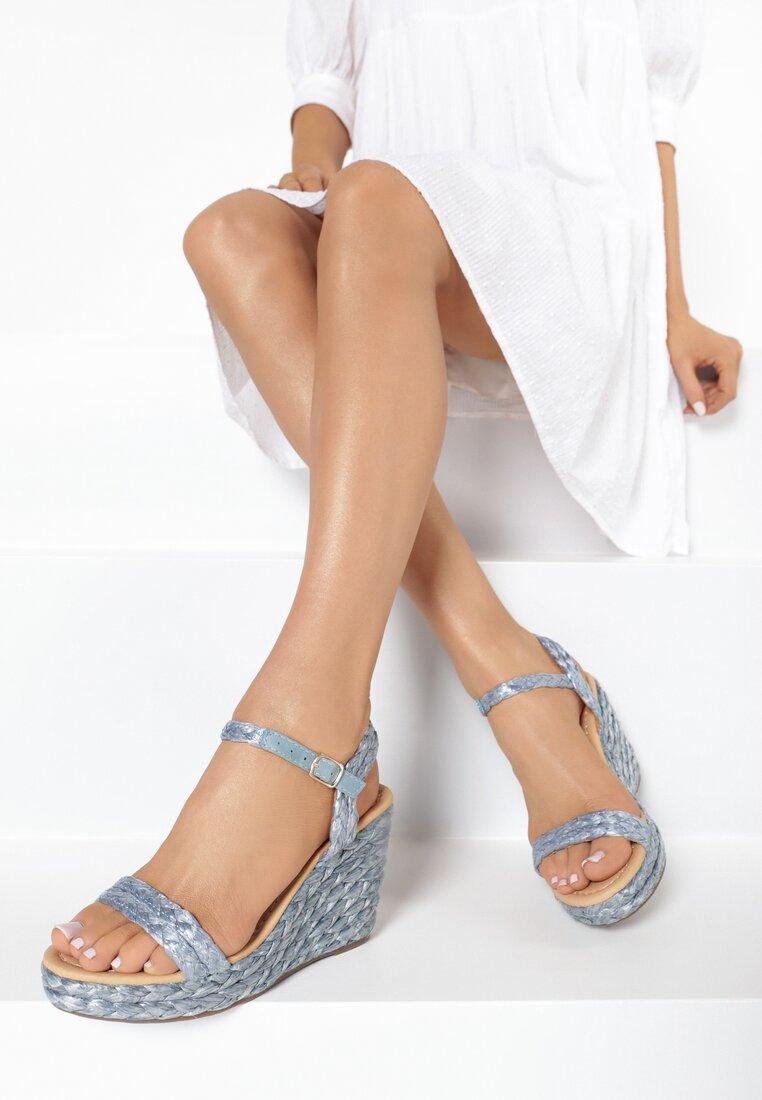 Niebieskie Sandały Pirepheme