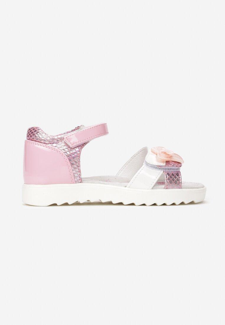 Różowe Sandały Fontatina inny