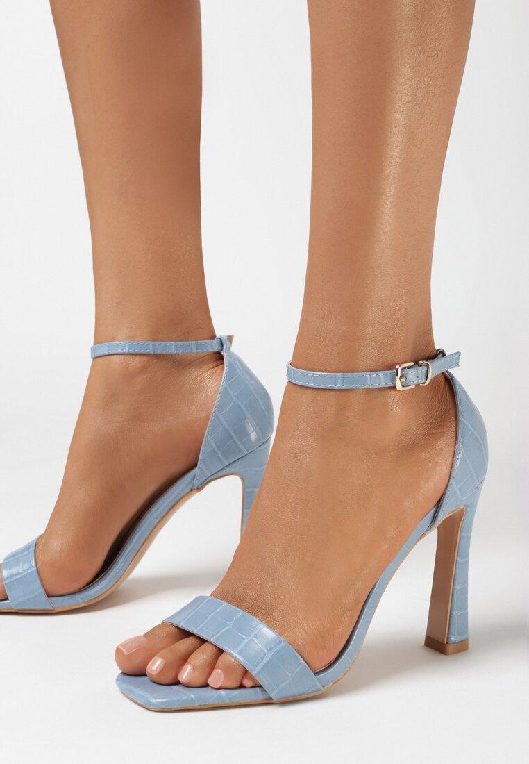 Niebieskie Sandały Pasixera